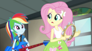 Rainbow shaking her head at Fluttershy EG2