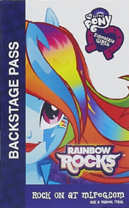 Rainbow Dash Equestria Girls Rainbow Rocks Backstage pass
