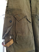 Mabuta 1 trousers front pocket