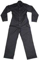 Coveralls Men's Black Army Pattern