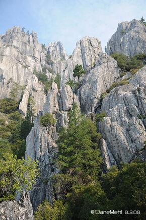 Castle Crags by DaneMehl
