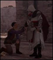 Alex brings Yusaf into the Guild