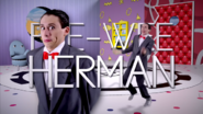 Pee-wee Herman title Card