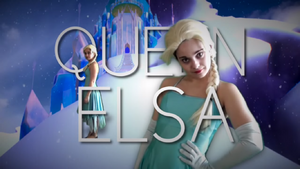 Queen elsa Title card