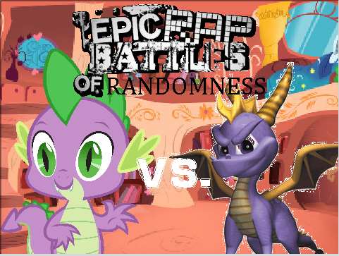 File:Spike vs spyro poster.png