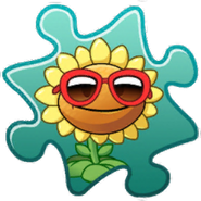 Sunflower Costume Puzzle Piece