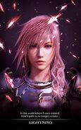 FFXIII Arte Lightning