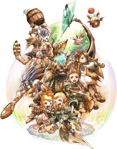 Archivo:Batalla de Final Fantasy Crystal Chronicles.jpg