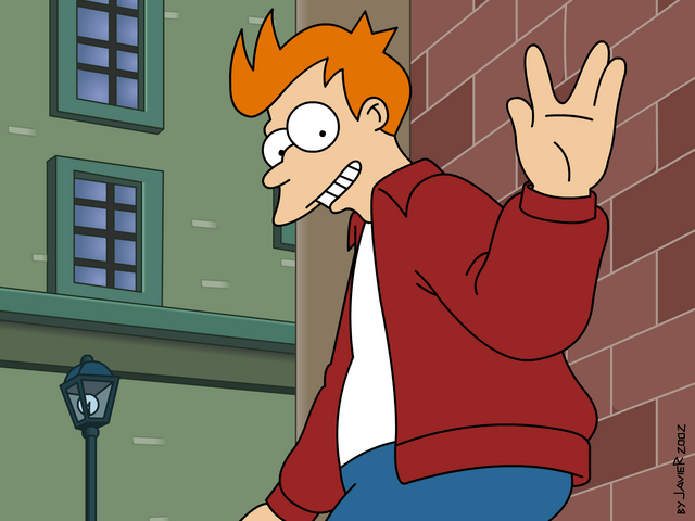 Archivo:Fry Vulcan Salute by javoec.png