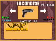 GTA A Escondite Pistola