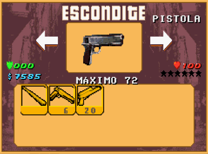 Archivo:GTA A Escondite Pistola.PNG