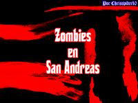 Portada Zombies en San andreas