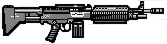 HUD ametralladora de combate