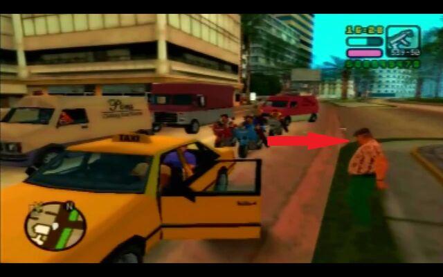 Archivo:Taxista de gta vcs fuera.jpg