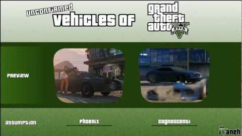 Vehicles of Grand Theft Auto V