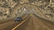 Vista del interior del túnel