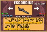 GTA A - Minigun