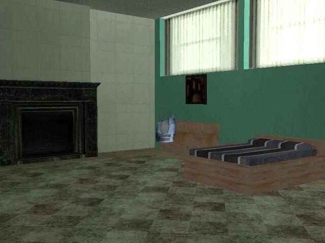 Archivo:Chaleco antibalas en un dormitorio..jpg