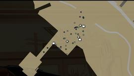 Mapa de supervivencia en el embarcadero