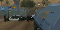 Batalla SWAT contra Ballas