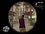 Francotirador GTA San Andreas