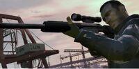 Rifle de francotirador militar
