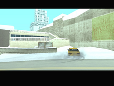 Llegando a Liberty City