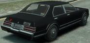 Esperanto taxi detrás GTA IV
