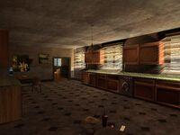 Cocina de la casa de Ryder