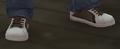 Zapatillas tenis blancas marrones GTA IV.png