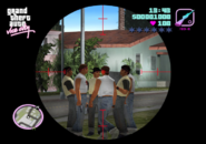 GTA Vice City Beta HUD
