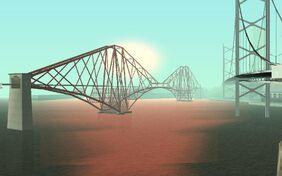 Puente Kincaid con sol