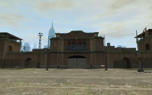 Penitenciaría Alderney Entrada