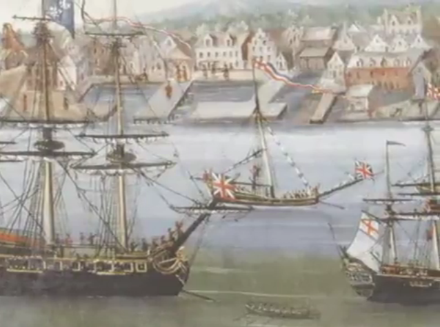 Archivo:A History of Liberty-Llegada de los ingleses.png
