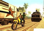GTA San Andreas Beta Brown Streak