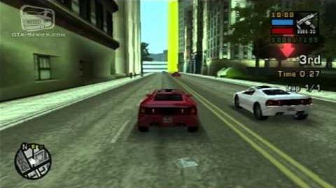 GTA Liberty City Stories - Street Race - Deimos Dash