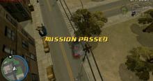 Misión cumplida en gta chinatown wars