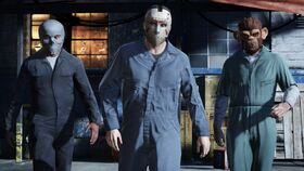 Three Mask