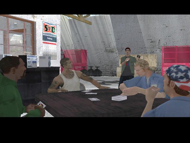 Archivo:Carl y el resto del grupo conversando.PNG