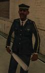 Peatón guardia GTA SA