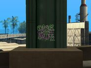 Graffiti del puente de OD