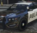 Automóvil de la policía