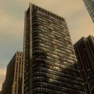 Banner hotel edificio