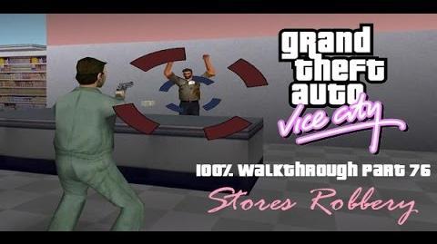 GTA Vice City 100% Walkthrough Part 76 - Stores Robbery