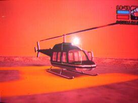 Vista del Helicóptero de Massimo Torini
