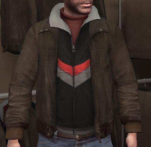 Archivo:Chupa cuero y chaqueta chándal negra GTA IV.png