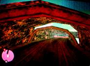 Vista del túnel por detras