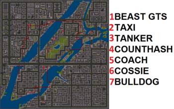 Misiones secretas map GTA