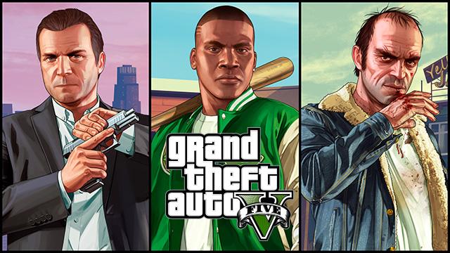GTA V PS4, Xbox One, PC