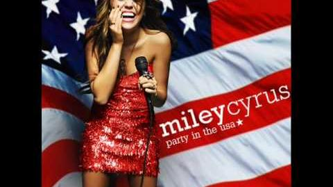 Miley Cyrus Party In USA